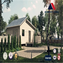 new style affordable american prefab homes quick assembled for Middle East Standard 50 years