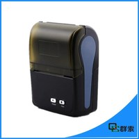 Small size 58mm portable android tablet bluetooth thermal printer QS5801