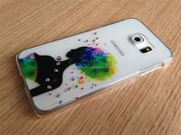 2015 Dongguan transparent PC phone case manufacturing for samsong