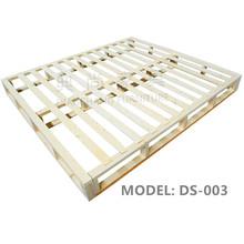 Solid Wood Bed Frame, Wooden Flat Pack KD Bedstead, KD Wood Bed