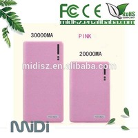 Low price !!!Mobile Power Bank smart phones power bank 20000mah with dual USB port