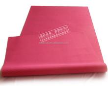 Sport waterproof natural rubber cheap yoga mat manufacturer with Mesh surface