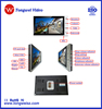 9inch Color TFT LCD video door phone support Room to room intercom & built-in memory