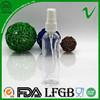 PET new transparent popular 100ml plastic air freshener bottle for sale