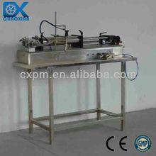 Guangzhou CX full Pneumatic semi automatic e cigarette liquid filler for small business
