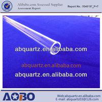One end closed infrared asphalt heater/Fused quartz tube