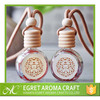 2015 natural essential oil car air freshener fruits fragrance hanging car perfume