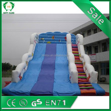 hot sale giant fire truck inflatable water slide, cheap inflatable