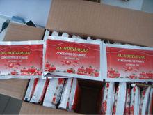 tomato sachets/pouch ketchup/puree