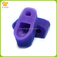 Alibaba China wholesale silicone cute doll shoes handmade soap mold silicone soap molds doll shoes mold