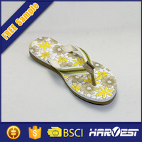 platform printed sexy rubber flip flop,closed toe flip flop solar