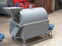 A large drum drying frying machine, peanut seeds/sesame baking machine