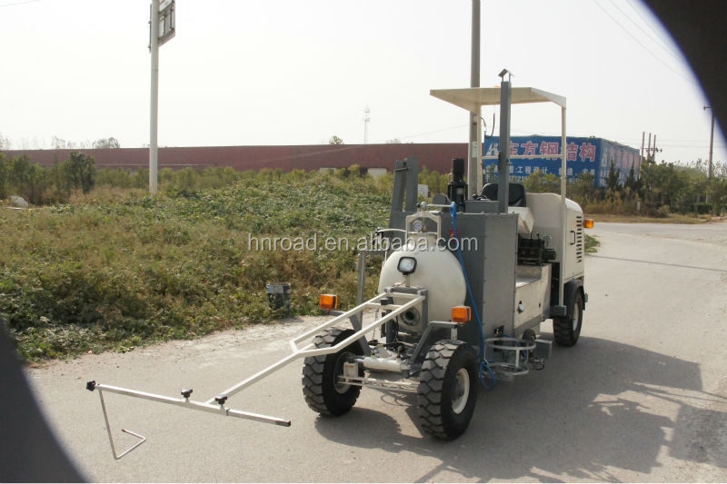 Small size Driving Type Screed Thermoplastic Road Marker