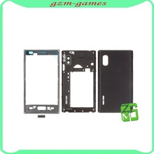 Full Housing For LG Optimus L5 E610 Faceplate Front Housing Battery Back Cover Case Complete