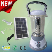 Solar LED Lantern Light with Phone Charger