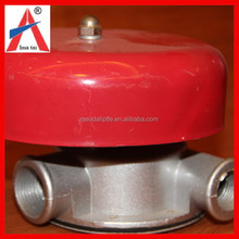 Customized factory supply fire fighting wet fire water pressure alarm valve