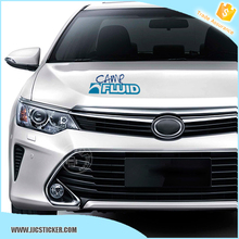 Free sample and shipping pvc die cut car sticker