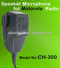 Computadora de mano gm-300 micrófono de radio móvil