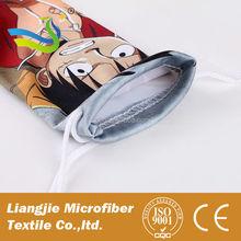Custom design microfiber pouch for sunglasses