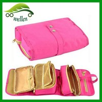 2015 New design foldable toiletry bag