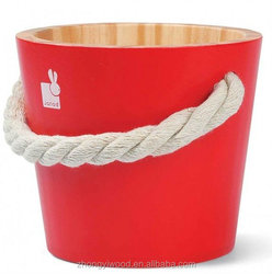 New Arrival handmade wooden water bucket for sale