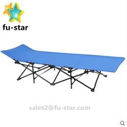 PN FUJIAN factory New Outdoor Portable Folding Cot Military Hiking Camping & Beach Sleeping Bed Fish Full Size Ikea Folding Bed