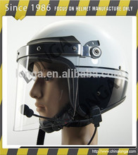 ad alta resistenza sistema audio e di polizia casco militare usato