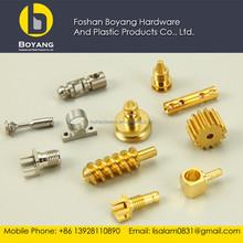 precision brass cnc lathe machine parts with low price