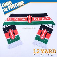 Marketing promotion good price Kenya polyeser wool winter warm tube head scarf
