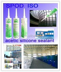 High performance Acetic silicone sealant, quick drying