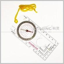 Kearing transaprent plastic Multifunction Digital Compass for use on patrols manufacturer in China # KMC-1