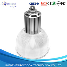 150w high bay led light black/silver shell for selection