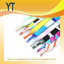 China Wholesale Heat Transfer, Silkscreen, Woven Printing Nylon Shoelaces Polyester Shoe Laces
