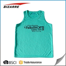 Custom made dry fit training shirt / sleeveless / tank top