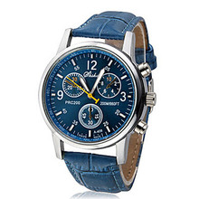 Fashion Leather men Chinese Wholeasle cheap watches in bulk