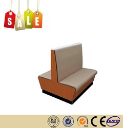 Restaurant furniture factory wholesale leather hotel sofa for sale