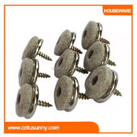 furniture leg floor protection for wool screw nail glides