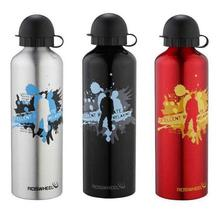 Hot sell color printing 400ml 500ml aluminum sports bottle