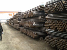 schedule 40 carbon astm a53 erw black steel pipes
