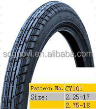 high quality motorcycle tire 2.25-17