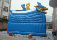 juegos inflables china/ unique sea world combo inflatable bounce house /inflatable castle