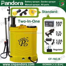 UAE Pandora 16L Agriculture Knapsack Multifunctional Battery and Hand Dual Sprayers