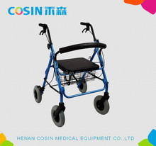 Aluminium Alloy Foldable Multifunctional Walking Aid Rollator