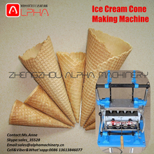 High quality!Ice cream cone making machine/waffle cone machine with low price/ice cream waffle cone maker