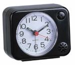 Simple push light sweep silent analog Alarm clocks