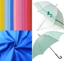 190t polyester taffeta waterproof umbrella fabric for curtains