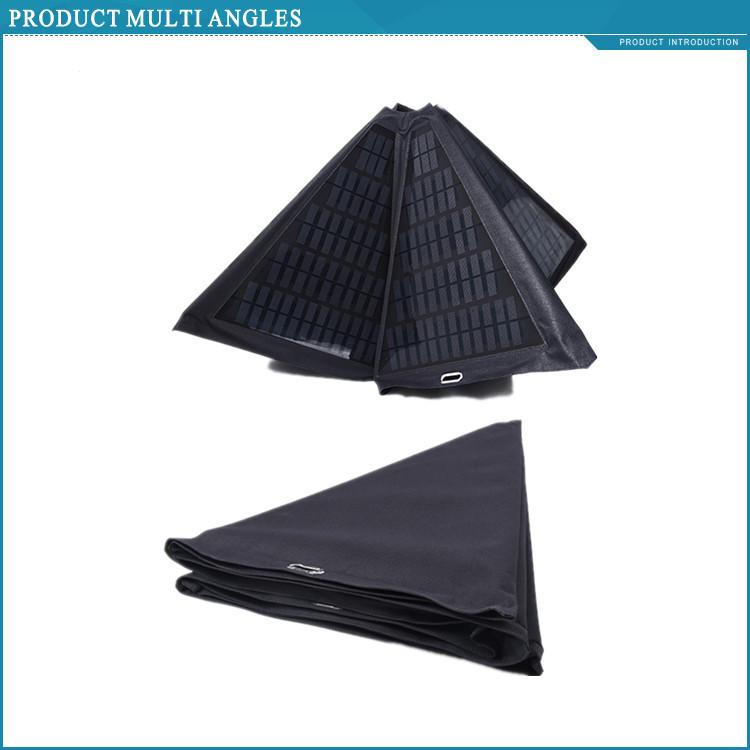 Giacca Con Pannello Solare : W painel solar dobrável carregador unbrella para os