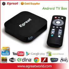 android tv box U8 smart tv connections