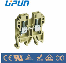 low voltage screw terminal block 4mm2 with CE UL IECEX USK-4 China manufacturer