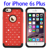 Paypal acceptable Starry Pattern Silicone PC combination case for iPhone 6s Plus